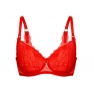 PREORDER Grace Soft Bra Red